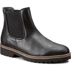 Sztyblety GABOR - 71.680.20 Schwarz (Cognac). Czarne buty zimowe damskie Gabor, z materiału, na obcasie. W wyprzedaży za 339,00 zł.