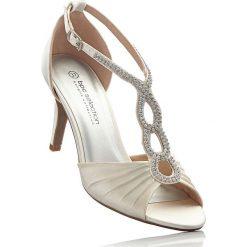 Sandały bonprix szampan. Białe sandały trekkingowe damskie marki Champion Reverse Weave, z materiału. Za 139,99 zł.