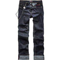 AC/DC EMP Signature Collection Jeansy ciemnoniebieski. Niebieskie jeansy męskie z dziurami AC/DC. Za 284,90 zł.
