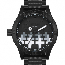 Nixon Metallica - Master Of Puppets Zegarek na rękę czarny. Czarne zegarki męskie Nixon, szklane. Za 2029,90 zł.