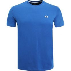 T-shirty męskie: La Martina Tshirt basic turkish blue