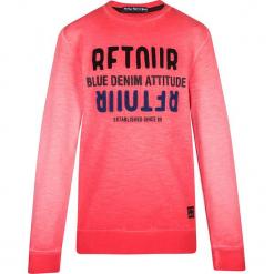 Bluza w kolorze jasnoczerwonym. Czerwone bluzy chłopięce marki Retour Denim de Luxe, z aplikacjami, z bawełny. W wyprzedaży za 115,95 zł.
