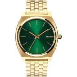 Zegarki damskie: Zegarek unisex Gold Green Sunray Nixon Time Teller A0451919