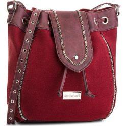 Torebka MONNARI - BAGA490-005  Burgundy. Czerwone torebki worki Monnari, ze skóry ekologicznej. W wyprzedaży za 179,00 zł.