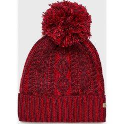 Columbia - Czapka. Brązowe czapki zimowe damskie Columbia, na zimę, z dzianiny. Za 119,90 zł.