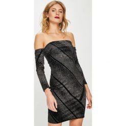 Tally Weijl - Sukienka. Czerwone sukienki dzianinowe marki TALLY WEIJL, l, z krótkim rękawem. Za 129,90 zł.