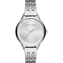 Armani Exchange Zegarek silvercoloured. Szare zegarki damskie Armani Exchange. W wyprzedaży za 489,30 zł.