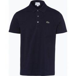 Lacoste - Męska koszulka polo, niebieski. Szare koszulki polo marki Lacoste, z bawełny. Za 249,95 zł.