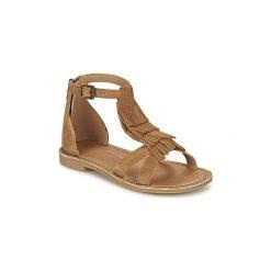 Sandały Dziecko  Shwik  LAZAR FRINGE. Brązowe sandały dziewczęce marki Primigi, z materiału. Za 295,20 zł.
