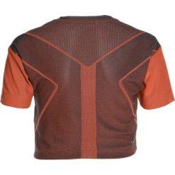 T-shirty chłopięce: adidas Performance KNIT TEE Tshirt basic carbon/hireor
