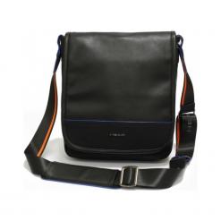 """Head messenger H50113201 14"""" czarna. Czarne torby na laptopa marki Head, w paski, z materiału. Za 399,00 zł."""