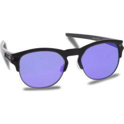 Okulary przeciwsłoneczne OAKLEY - Latch Key OO9394-0252 Matte Black/Violet Iridium. Czarne okulary przeciwsłoneczne damskie aviatory Oakley. W wyprzedaży za 509,00 zł.
