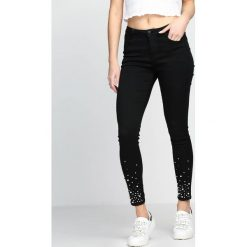 Spodnie damskie: Czarne Spodnie Fresher