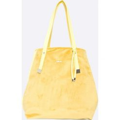 Felice - Torebka. Białe torebki klasyczne damskie marki Felice, z materiału, duże. W wyprzedaży za 79,90 zł.