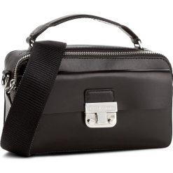 Torebki klasyczne damskie: Torebka TOMMY HILFIGER - Fashion Hardware Leather Mini Crossover AW0AW04291  002