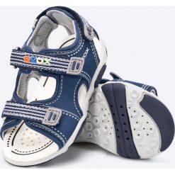 Geox - Sandały dziecięce. Szare sandały chłopięce Geox, z materiału. W wyprzedaży za 199,90 zł.