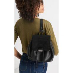 Plecaki damskie: Plecak worek z eko-skóry