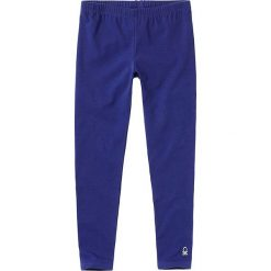 Legginsy dziewczęce: Legginsy w kolorze niebieskim