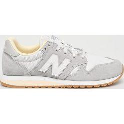 New Balance - Buty WL520CV. Szare buty sportowe damskie New Balance, z materiału. W wyprzedaży za 299,90 zł.
