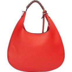 """Torebki klasyczne damskie: Skórzana torebka """"Accapulco"""" w kolorze czerwonym - 38 x 30 x 2 cm"""