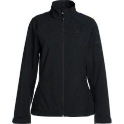 Schöffel JACKET TARIJA Kurtka Softshell black. Czarne kurtki damskie softshell Schöffel, z materiału. W wyprzedaży za 377,10 zł.