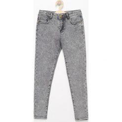 Odzież chłopięca: Spodnie jeansowe slim fit - Czarny