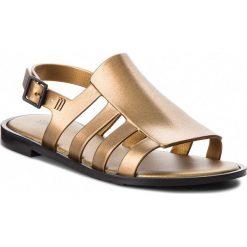 Rzymianki damskie: Sandały MELISSA – Boemia Shine Ad 32398 Black/Gold 50919