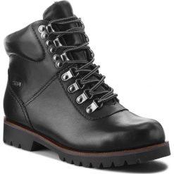 Trapery CAPRICE - 9-26216-21 Black Nappa 022. Czarne buty zimowe damskie Caprice, z materiału. W wyprzedaży za 249,00 zł.