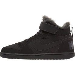 Trampki chłopięce: Nike Sportswear NIKE COURT BOROUGH MID WTR PSV Tenisówki i Trampki wysokie black/anthracite