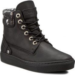 Sneakersy WRANGLER - Historic WL162560 Black 62. Czarne sneakersy damskie Wrangler, z materiału. W wyprzedaży za 219,00 zł.