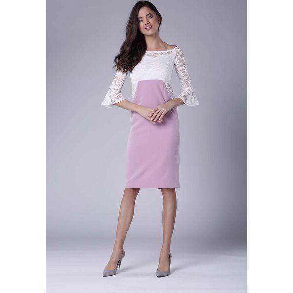 c5c18bd617 Różowe sukienki damskie wizytowe - Zniżki do 80%! - Kolekcja wiosna 2019 -  myBaze.com