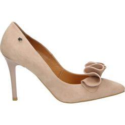 Buty ślubne damskie: Czółenka - 1852 CAM CIPR