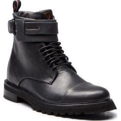 Kozaki STRELLSON - Nimo Nico 4010002501 Grey 800. Szare buty zimowe męskie Strellson, z materiału. Za 649,00 zł.