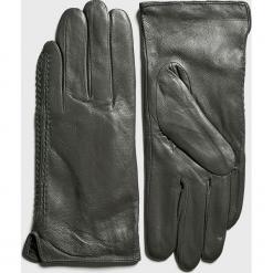 Answear - Rękawiczki skórzane. Brązowe rękawiczki damskie marki Roeckl. Za 69,90 zł.