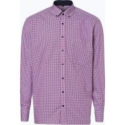 Koszule męskie na spinki: Eterna Comfort Fit - Koszula męska niewymagająca prasowania, różowy