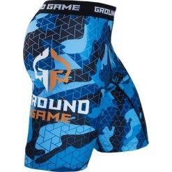 """Ground Game Sportswear Spodenki Vale Tudo """"Warmachine"""" S. Białe spodenki sportowe męskie marki Adidas, l, z jersey, do piłki nożnej. Za 139,00 zł."""