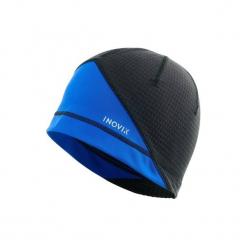 Czapka narciarska XC S 500 dla dorosłych. Czarne czapki damskie marki INOVIK, z elastanu. Za 39,99 zł.