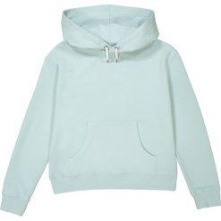 Bluza z kapturem 10-16 lat. Szare bluzy dziewczęce rozpinane La Redoute Collections, z bawełny, z długim rękawem, długie, z kapturem. Za 70,52 zł.