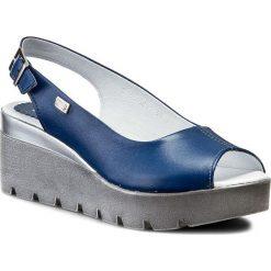 Rzymianki damskie: Sandały SIMEN – 6812 Sl.Niebieski