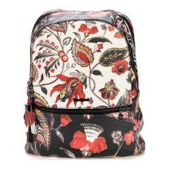 Desigual Plecak Damski Unexpected Milan, Czarny. Czarne plecaki damskie Desigual, w kolorowe wzory, biznesowe. Za 400,00 zł.