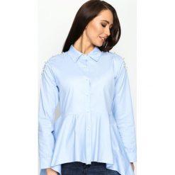 Niebieska Koszula Shirt Dress. Niebieskie koszule damskie Born2be, s, z długim rękawem. Za 69,99 zł.