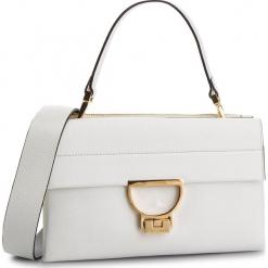 Torebka COCCINELLE - DD5 Arlettis E1 DD5 12 01 01 Blanche H10. Białe torebki klasyczne damskie Coccinelle, ze skóry, duże. Za 1649,90 zł.