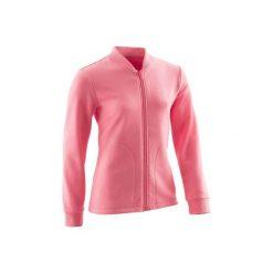 Bluza 100 Gym. Czerwone bluzy dziewczęce rozpinane DOMYOS. Za 29,99 zł.