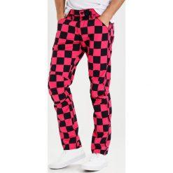 Spodnie męskie: GStar PHARRELL WILLIAMS ELWOOD X25 3D  Spodnie materiałowe rebel pink/black ao