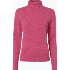 Brookshire - Sweter damski, różowy. Czarne golfy damskie marki brookshire, m, w paski, z dżerseju. Za 149,95 zł.