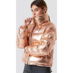 Glamorous Krótka kurtka watowana - Gold. Różowe bomberki damskie Glamorous, z materiału. Za 364,95 zł.