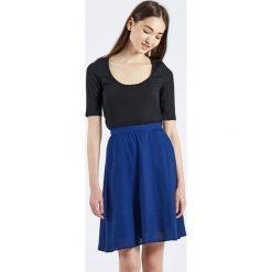 Minispódniczki: Spódnica bombka Falda Azul Marino Prune