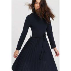 Granatowa Sukienka For You. Niebieskie sukienki marki other, uniwersalny, midi. Za 89,99 zł.