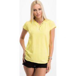 Bluzki damskie: Cytrynowa bluzka 2068