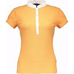 Bluzki damskie: Koszulka polo w kolorze pomarańczowym